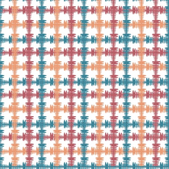 Hand drawn seamless pattern with crossing painted lines