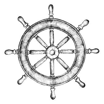 Ручное колесо корабля