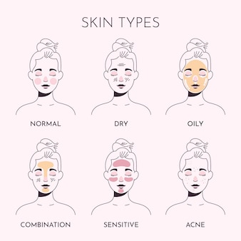Коллекция рисованной кожи