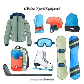 手描きスノーボード用品