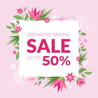 Hand-drawn spring sale
