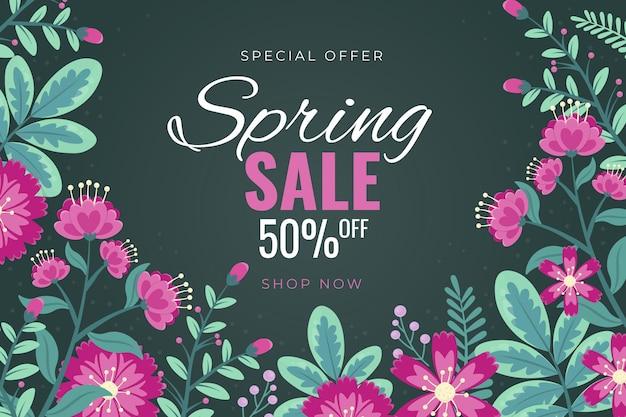 Hand drawn spring sale