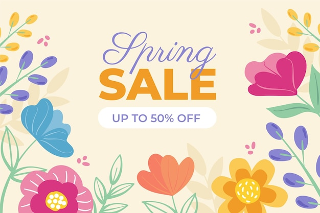 Hand drawnspring sale