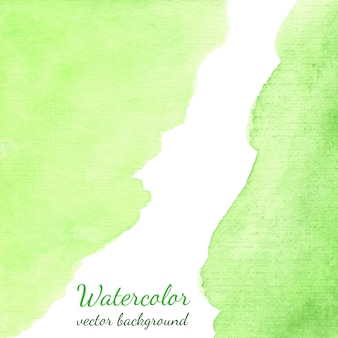 Hand drawn spring vector watercolor stain background