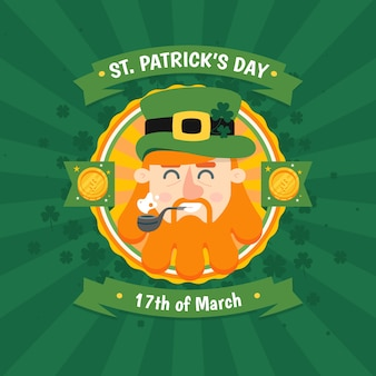 Hand drawn st. patrick's day wallpaper