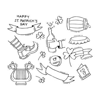 手描きの聖パトリックの日
