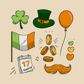 Hand drawn st. patrick's day