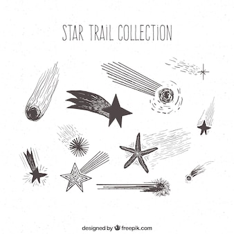 Hand drawn stars pack