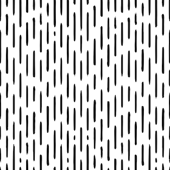 Hand drawn striped seamless pattern with short vertical brushstrokes