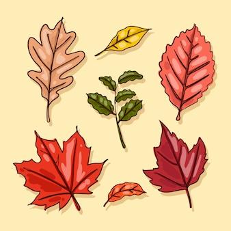 手描き風紅葉コレクション