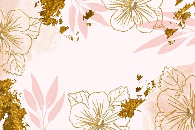 Ручной обращается стиль цветочный фон