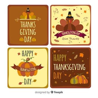 Выделенная открытка с днем благодарения