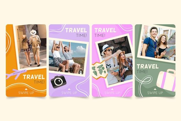 손으로 그린 여행 instagram 이야기 모음