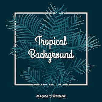 Ручной обращается тропический фон