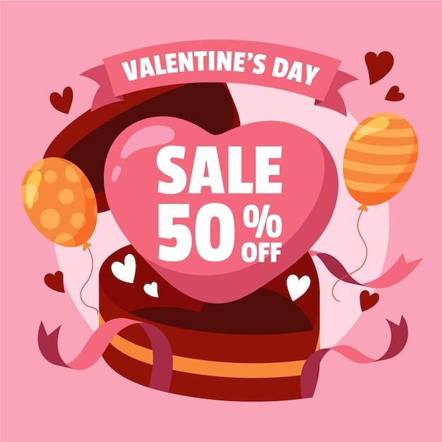 Hand drawn valentine's day sale 50% off