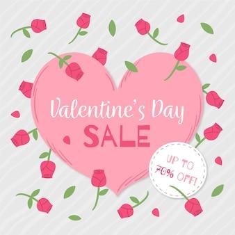 Hand drawn valentine's day sale