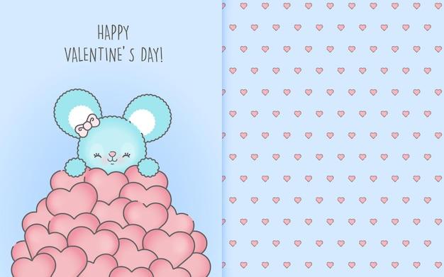 Hand drawn valentine