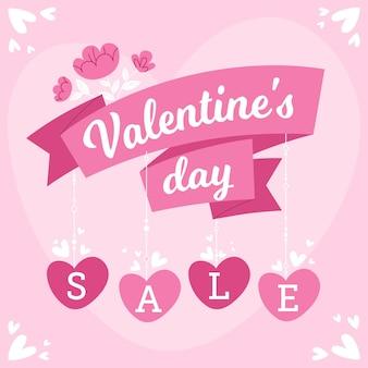 Hand drawn valentines day sale