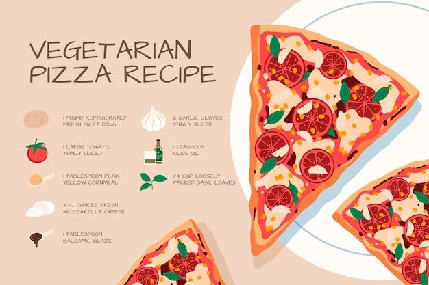 Ручной обращается вегетарианский рецепт