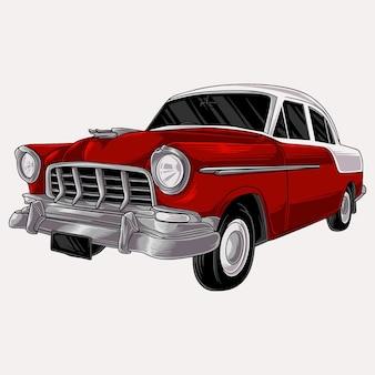 Ручной обращается старинный автомобиль