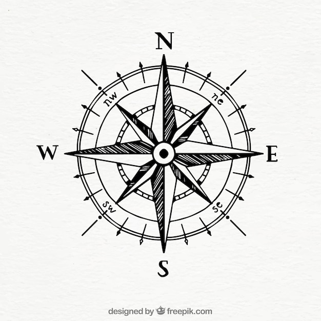 compass vectors photos and psd files free download rh freepik com free compass vector download free vector drawing compass