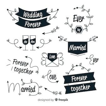 Ручной обращается свадебный сборник слов