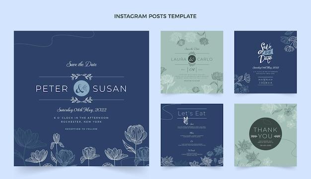 手描きの結婚式のinstagramの投稿コレクション