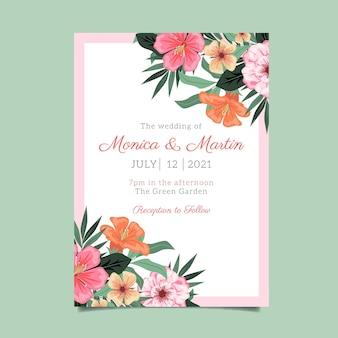 Ручной обращается свадебный плакат