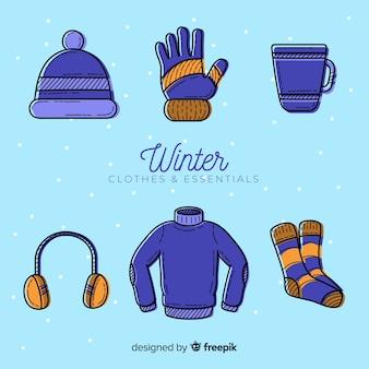 Ручная зимняя одежда и предметы первой необходимости