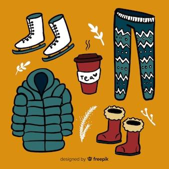 Ручная зимняя одежда