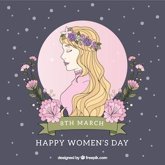 Нарисованный женский день