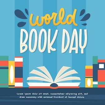 Giornata mondiale del libro disegnato a mano