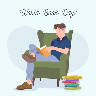 Hand drawnworld book day