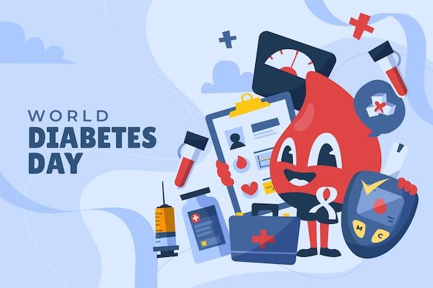 Ручной обращается всемирный день борьбы с диабетом
