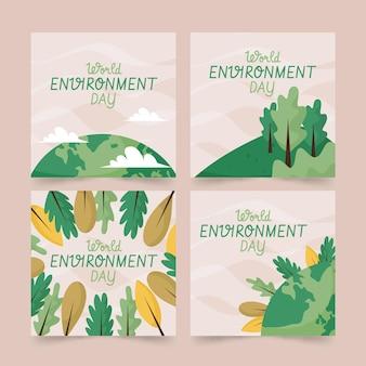 手描きの世界環境デーのinstagramの投稿コレクション