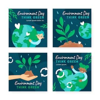 Коллекция сообщений instagram всемирный день окружающей среды