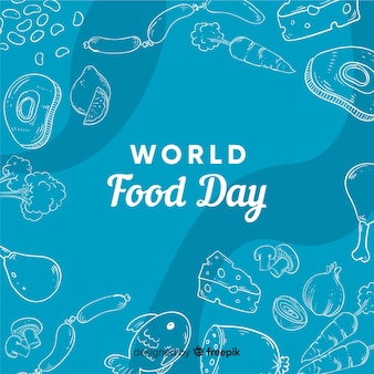 Ручной обращается всемирный день еды