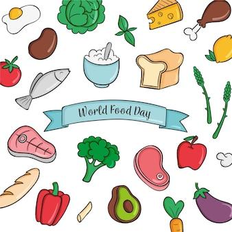 手描きの世界食糧の日
