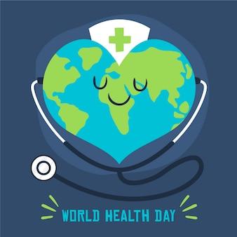 Ручной обращается всемирный день здоровья