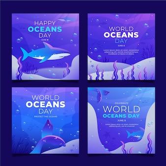 Коллекция сообщений instagram всемирный день океанов