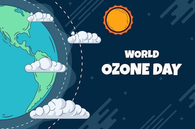 Ручной обращается всемирный день озона фон