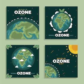 手描きの世界オゾンデーinstagramの投稿コレクション