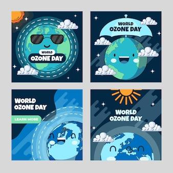 Коллекция сообщений instagram всемирный день озона