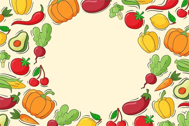 Ручной обращается всемирный вегетарианский день фон