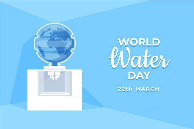 Ручной обращается всемирный день воды