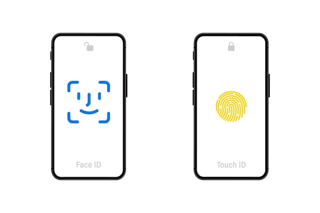 Hand holding smart phone with blank screen on white background. mobile phone. black smartphones with blank screen. flat style. set application template illustration of a smartphone with white screen
