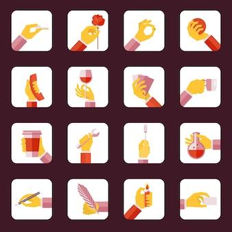 Коллекция иконок для рук