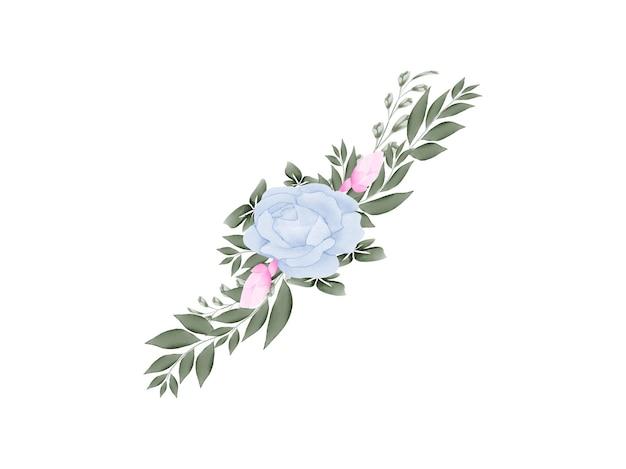 Ручной работы акварель цветочные рамки свадебные приглашения набор карт