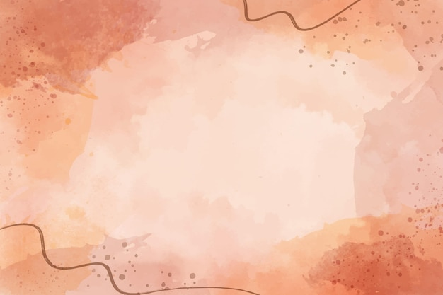 Hand painted abstract background in watercolor