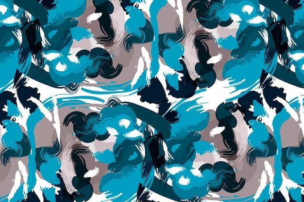手描きの抽象画のパターンデザイン